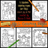 Fall Coloring Pages Printable Download