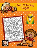 Fall Coloring Pages: Relax!