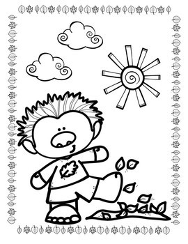 Fall Coloring Pages: Trolls & Fairies