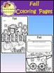 Fall Coloring Pages and Writing Prompt (School Designhcf)