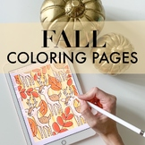 Fall Coloring Pages by Taracotta Sunrise