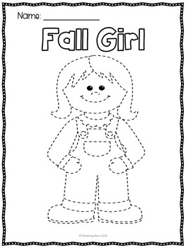 Fall Coloring Sheets Fine Motor Skills
