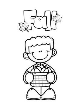 Fall Coloring Sheets Freebie!