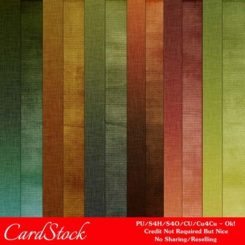 Fall Colors 5 A4 size Digital Papers
