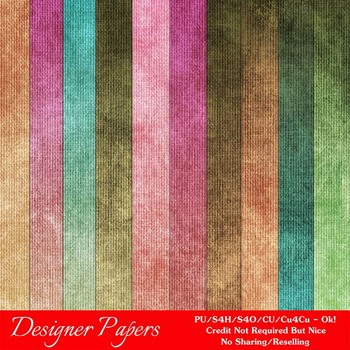 Fall Colors 6 A4 size Digital Papers