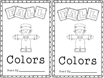 Fall Colors - A Sight Word Reader