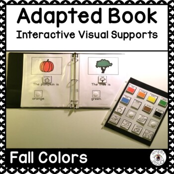 Fall Colors Adapted Book with Interactive Visuals