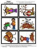 Fall Colors - Autumn - 2 Piece Puzzles - #60CentFinds - No