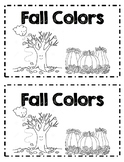 Fall Colors Emergent Reader