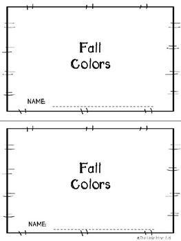 Fall Reader: Fall Colors