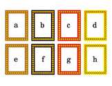 Fall Colors Halloween Colors Alphabet Literacy Card Task Cards 4pages