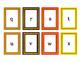 Fall Colors Halloween Colors Alphabet Literacy Card Task C