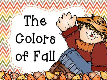 Fall Colors Interactive Reader