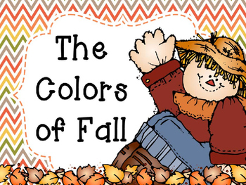 Fall Colors Interactive Reader