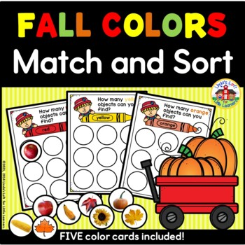 Fall Colors Match and Sort