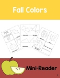 Fall Colors Mini-Reader