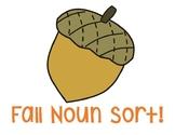 Fall Common/Proper Noun Sort!
