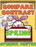#springbackin Compare and Contrast Spinner Center Activity