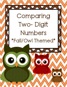 Fall Comparing 2-Digit Numbers (1.NBT.B.3, 2.NBT.A.4)