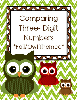 Fall Comparing 3-Digit Numbers  (2.NBT.A.4)