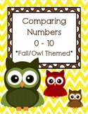 Fall Comparing Numbers 0-10