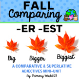 """Comparing -Suffixes """"-er"""", """"-est"""" Fall"""