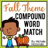 Fall Compound Word Match