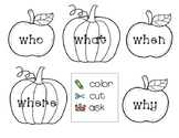 Fall Comprehension Cards