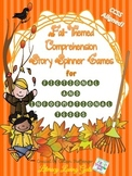 """Fall"" Comprehension Story Spinner Games for Fictional and"
