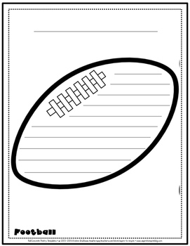 Fall Concrete Poetry Templates