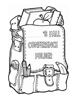 Fall Conference Cover & Student Reflection