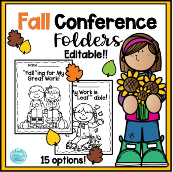 Fall Conference Folder Covers