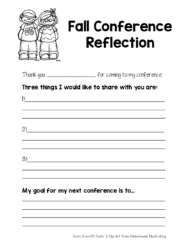 Fall Conference Reflection