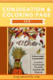 SER Fall Conjugation Coloring Page