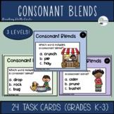Fall Consonant Blend Task Cards