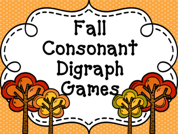 "Fall ""Sh, Th, Ch, Ph"" Games"