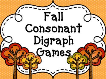"""Fall """"Sh, Th, Ch, Ph"""" Games"""