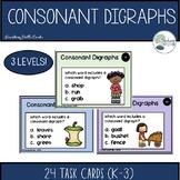 Fall Consonant Digraph Task Cards