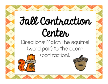 Fall Contraction Center