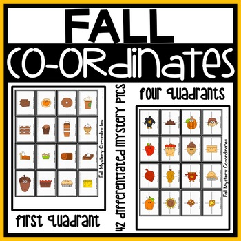Fall Coordinate Graphing