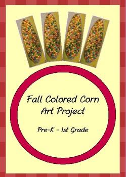 Fall Corn Art Project