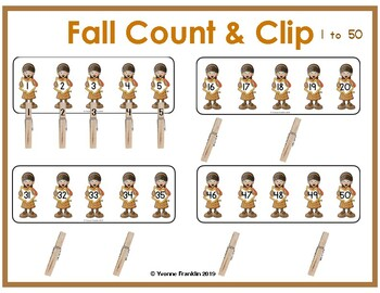 Fall Count & Clip 1 to 50