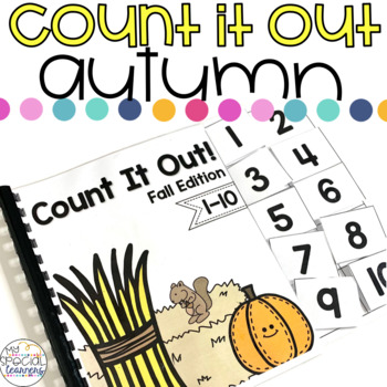 Fall Count It Out Adapted Book