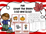 Fall Count The Room - Ten Frames