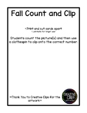 Fall Count and Clip