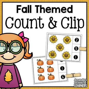 Fall Count and Clip Cards