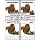 Fall Count and Clip Math Counting Center / Activity