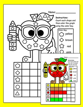 Fall Activities Count and Graph - Autumn Activities - Johnny Appleseed