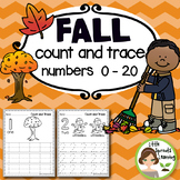 Fall Count and Trace - Numbers 1-20