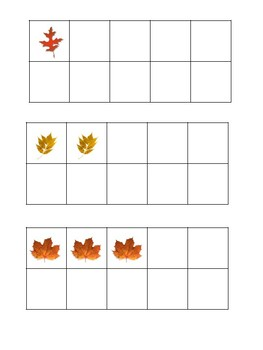Fall Count and Write the Room 1-20